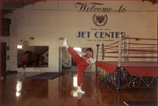 Benny @ His Gym Jet Center In Van Nuys