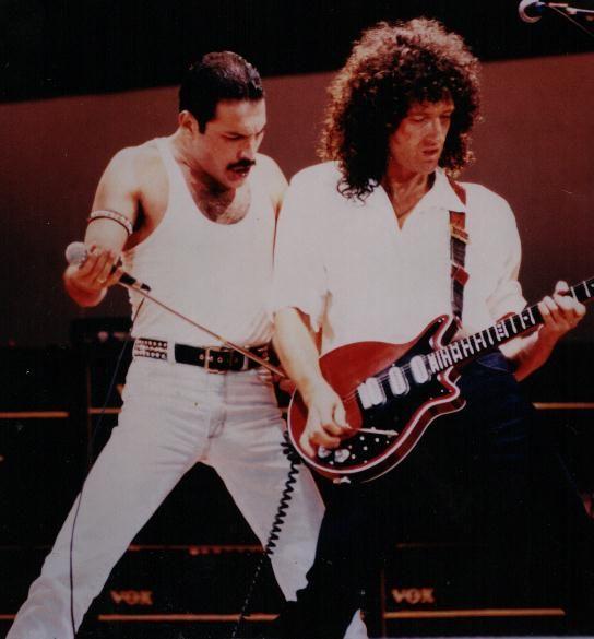 Freddy and Brian May