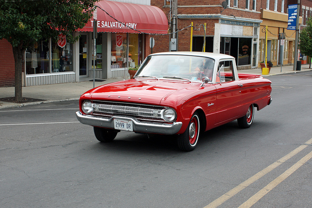 Car 1961 Ford Ranchero