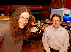 Kenny G and Bernie Grunman