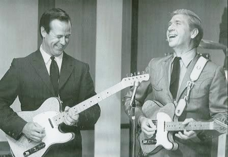 Don Rich and Buck Owens