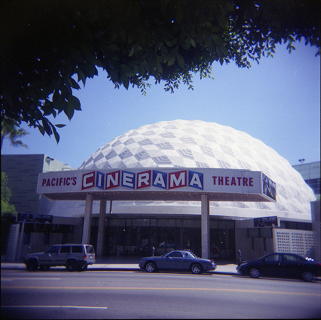 Cinerama Dome in Hollywood – A Todd AO Theater – Clar Sisk