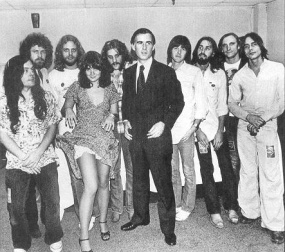 Linda's Band- Notice Everyone is There Even Jackson Brown and Jerry Brown and Joe Walsh