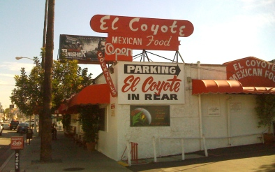 El Coyote on MelRose in Hollywood