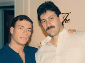 Jean Claude and Frank Dux