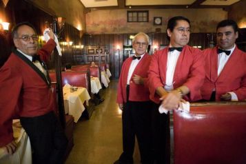 These are how Musso Waiters look & There Are No Waitresses
