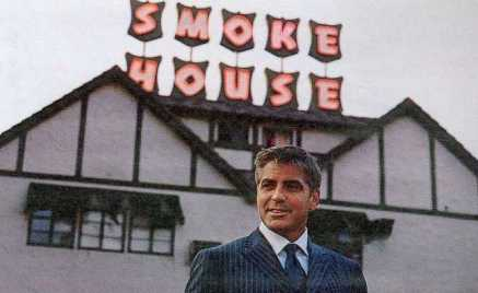 Smoke House and George Clooney - Studios Are Just Across the Street