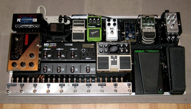 Tim Pierce Effects Board