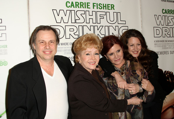 Todd and Carrie Fisher & Debbie Reynolds