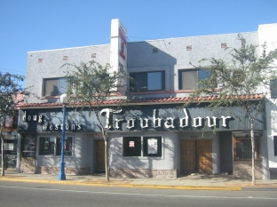 The Troubadour in West Hollywood