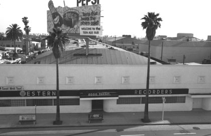 United Western on Sunset - Later Sunset Sound