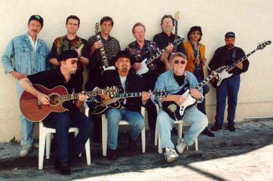 """The Ventures with Jeff """"Skunk"""" Baxter & Duane Eddy"""
