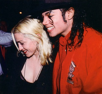 Michael Jackson and Madonna @ the Ivy