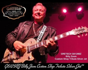 Billy Zoom - You know you are good when a major guitar manufacturer names a guitar after you.