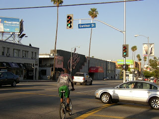 Gardner-guitar row in Hollywood-Jerry Blaha had his store on Sunset and Gardner