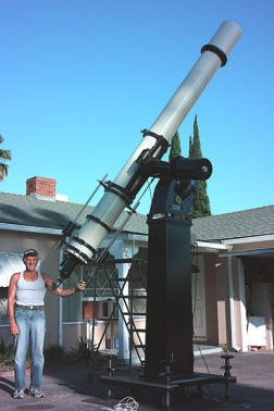 John Ponds telescope he built by himself